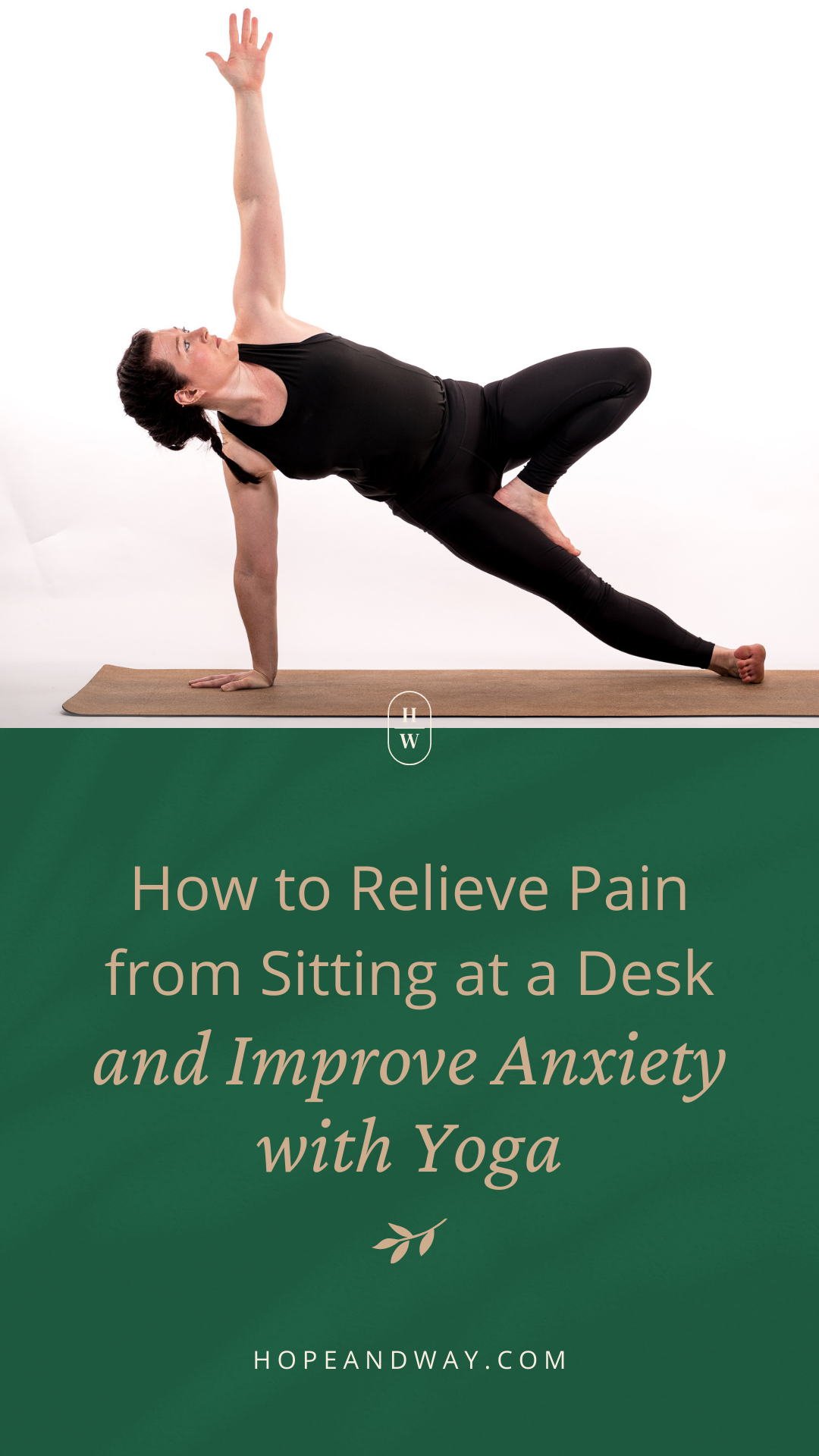 How to Relieve Pain from Sitting at a Desk and Improve Anxiety with Yoga? Interview with Suzanne Pikney