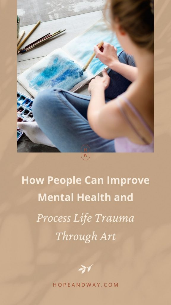 How People Can Improve Mental Health and Process Life Trauma Through Art - Interview with Taylor Beardsall